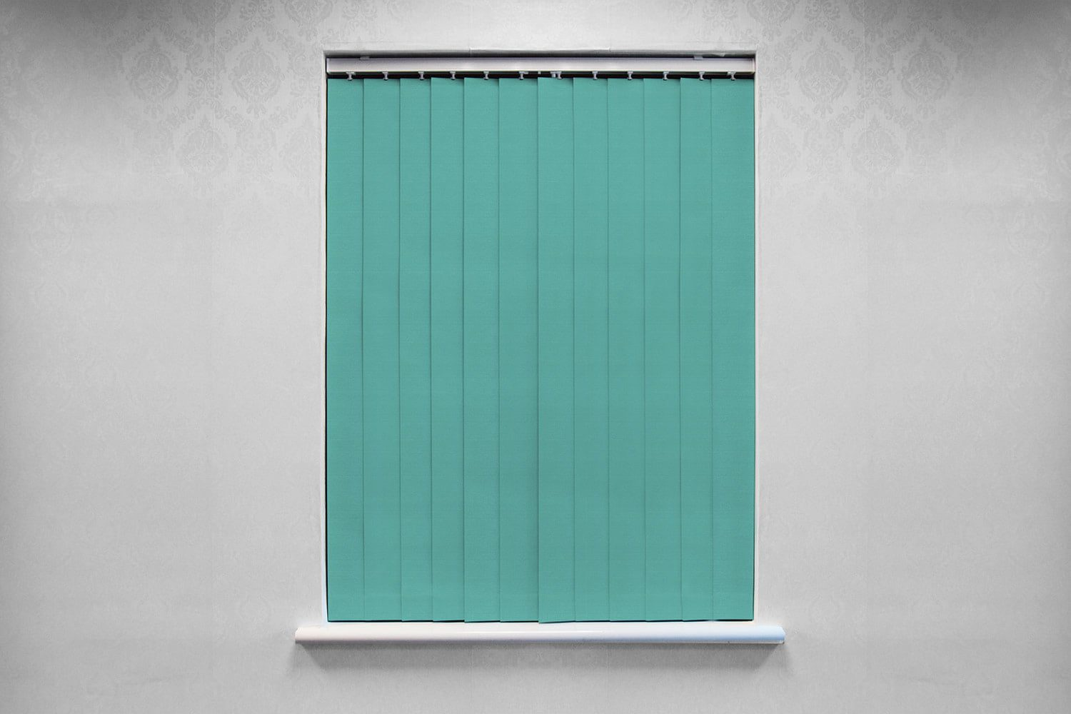 Sensation Shaded Blue Vertical Direct Blinds And Curtains