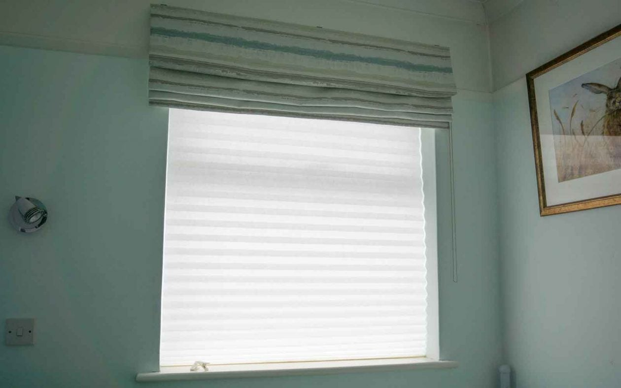 Temporary Blinds White
